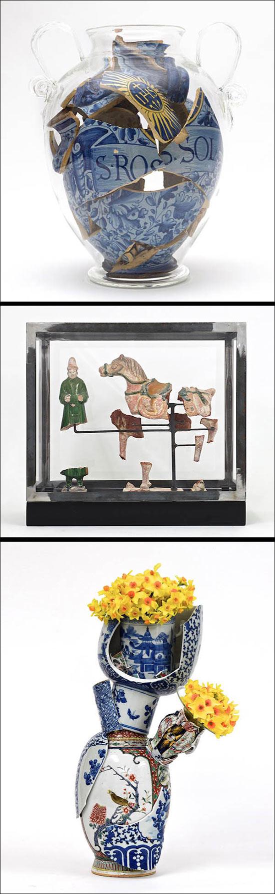 Bouke De Vries ceramic art