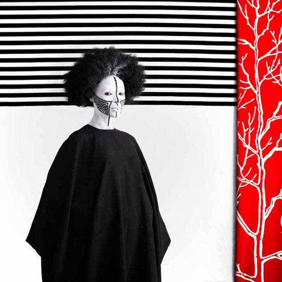 Aida Muluneh portrait based on the grid
